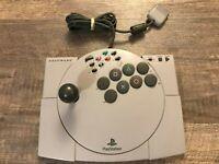 Asciiware Ascii ASCII Stick PS PlayStation 1 Arcade Joystick Controller PS1