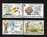 GUINEA ECUATORIAL. Año: 1982. Tema: DEPORTES. FUTBOL.