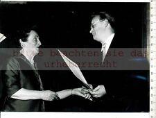 ORIGINAL PRESSEFOTO:1961 Josef NEMEC - VII.WESTDEUTSCHE KURZFILM TAGE OBERHAUSEN