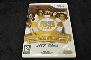 Nintendo wii Game World Series Of Poker:Tournament Of Champions