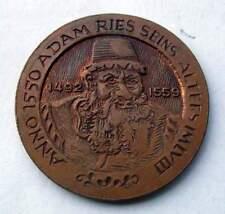 Medaille zum 400. Todestag von Adam Ries - Annaberg - Buchholz