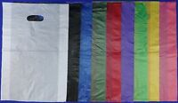 "High-Density Plastic Merchandise Bag 12"" x3"" x18"" Variety of Colors & Quantities"