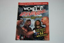WCW NWO Revenge Prima Video Game Strategy Guide Nintendo 64