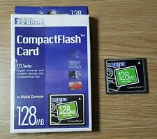 128MB I-O DATA COMPACT FLASH CARD CAMERA MEMORY CARD
