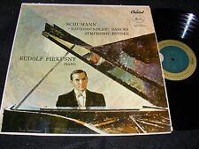 RUDOLF FIRKUSNY Capitol 50s LP SCHUMANN Davidsbundler Dances/ Symphonic Etudes