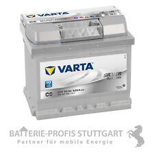 Varta Autobatterie Pluspol rechts 12V 52AH 470A C6 ersetzt 40Ah 44Ah 45Ah 50Ah