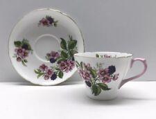Shelley England Fine Bone China Tea Cup Blackberry Bramble New Cambridge Shape