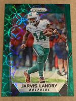 2017 Panini Prizm Green Scope Jarvis Landry 82. SP #d/99. Dolphins Browns