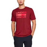 Under Armour Team Issue Wordmark Herren Graphic T-Shirt Rot UA 1329582