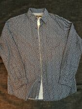 NWT PD & C Paper Denim & Cloth Mens Long Sleeve Button Down Shirt Size M