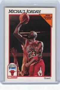 LOT OF 8 1991 NBA Hoops MVP 30 Michael Jordan Chicago Bulls