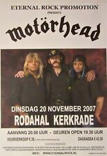 MOTORHEAD concert poster 2007 Kerkrade, Netherlands
