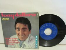 Tony Dallara - Sapore Di Sale / Ti Devo Dire No +2 - EP - 1964 - Spain VG/VG