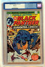 JUNGLE ACTION #20 BLACK PANTHER 1976 KKK KU KLUX KLAN Dragon's Circle CGC NM 9.4