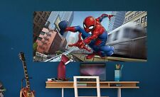Wall mural wallpaper Spider-Man 202x90cm children's bedroom large panoramic