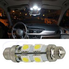 42mm 8 SMD 5050 Car LED Warm White Interior Dome Festoon Light Bulb 12V