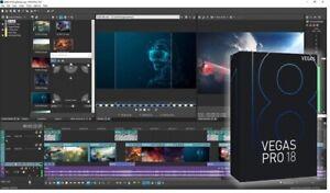 Magix Vegas Pro 18   PC   ✅ Full Activated ✅