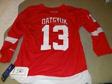 CCM Detroit Red Wings Pavel Datsyuk #13 NHL Hockey Jersey Red Youth sz L/XL NWT