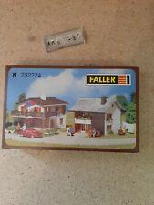 FALLER  MAISON  et boutique maquette 232224 comme neuf + 1 boite moissonneurs