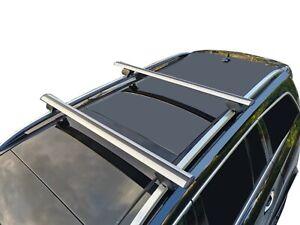 Alloy Roof Rack Cross Bar for Mitsubishi Pajero 2007-21 Lockable 135cm