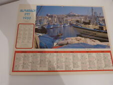 lot de 7 calendriers PTT 1988,1999,2002,2003,2005,2007 (car01)