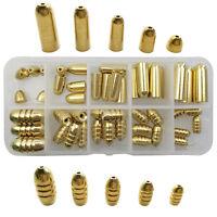 50/41pcs Brass Fishing Sinker Gold Bullet/Olive Shape Lead Weights Sinkers Set