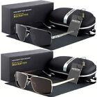 Black Polarized Pilot Men Glasses Outdoor Sports Eyewear Driving Uv Sunglasses