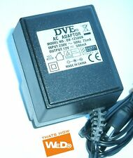DVE AC ADAPTER DV-1250UK 12V 500mA UK PLUG