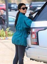 RARE NEW Authentic GIVENCHY Kim Kardashian Shiny Black Sunglasses GV 7002/S D28