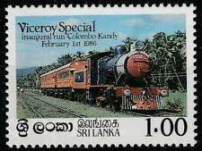 Sri Lanka postfris 1986 MNH 726 - Viceroy Special / Train (n1)