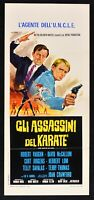 Plakat Gli Assassins – die Killer Der Karate Eolia Jürgens Herbert Lom Crawford