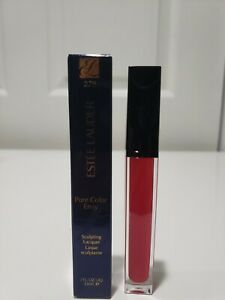 ESTEE LAUDER  PURÉ  COLOR ENVY SCULPTING LACQER LIP  270 THRILLING FLAME