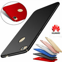 For Huawei P8 Lite P9 P10 Shockproof Case Hard PC Ultra Slim Frosted Back Cover