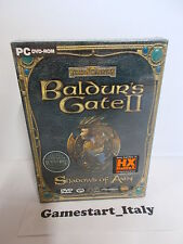 BALDUR'S GATE II SHADOWS OF AMN VERSIONE CARTONATA - PC - NUOVO NEW