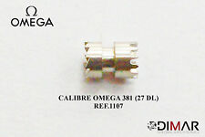 OMEGA 381 (27 DL) PIEZA.1107  (PIÑON DE RANURA)
