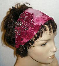 Medium Width 4.5cms New Lilac Sequin Stretchy Headband