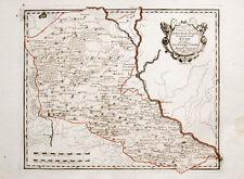 1789 Polen Poland Dnepr Dnieper Ukraine Kiew Kolorierte Kupfer Landkarte Reilly