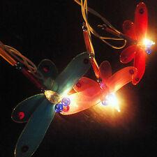 20 Dragonfly Art Multi Colour Fairy Lights String 10FEET PARTY,PATIO,Home Decor