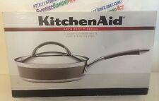 KitchenAid Architect Series 3 Quart Covered Saute Clad Stainless 30656 NEW !!!