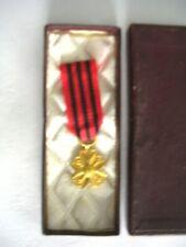 Belgique - Décoration civique - Médaille d'Or - diminutif