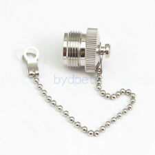 N female Copper Covers Dust Cap outside screw with Chain for N Male RF Connector