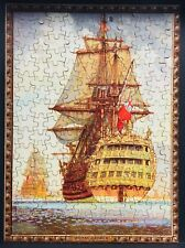 Vintage Sailing Ship Jigsaw Puzzle 200 Pieces Complete 'Royal George' by Harley