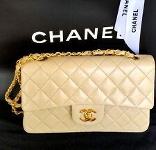 Orig. Chanel-Tasche double Flap Lambskin beige wie neu!!!