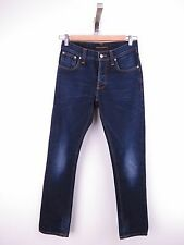 M045 NUDIE JEANS PANTS ORIGINAL PREMIUM GRIM TIM FROSTY BLUE SLIM size W30 L32
