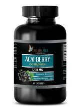 ACAI Berry 1200mg - Super Anti-Oxidant - Immune System Booster - 1 Bottle