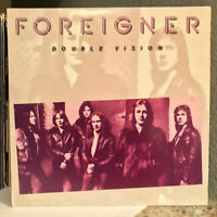 "FOREIGNER - Double Vision - 12"" Vinyl Record LP - EX"