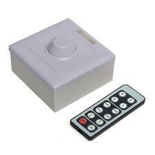 Infrared 12 Key Triac LED Dimmer Controller Switch PWM 0-10v 12v knob for single