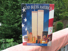 """God Bless America"" 9/11 World Trade Center 550 Pc. Jigsaw Puzzle~New & Sealed!"