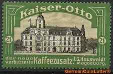 MAGDEBURG - Kaiser-Otto Kaffeezusatz, Abb. OLDENBURG - Grossh. Schloss (#25964)