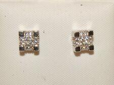 Silver man's Stud Earrings Screw Back Studs Earrings Hot Fashion